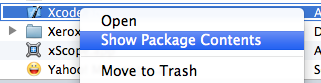 xcode_package_contents